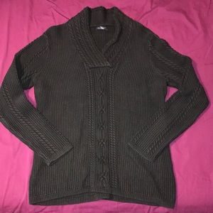 Nautica sweater (black)